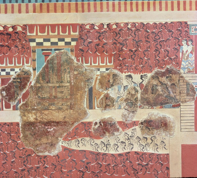 минойская фреска