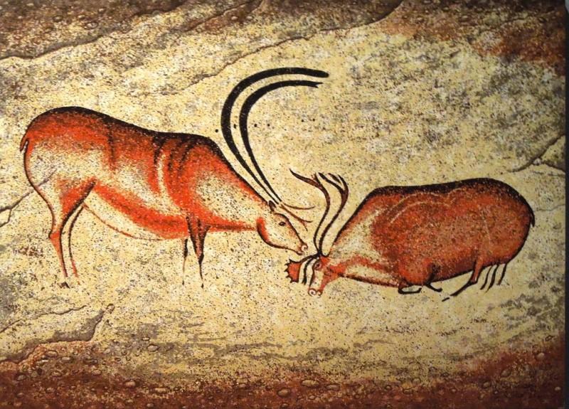 Рисунки в пещере Ласко