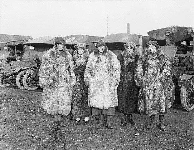 Водители скорой помощи; 1917-й год