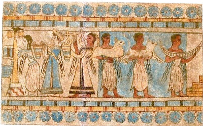 Крит. Фреска (Жертвоприношение)