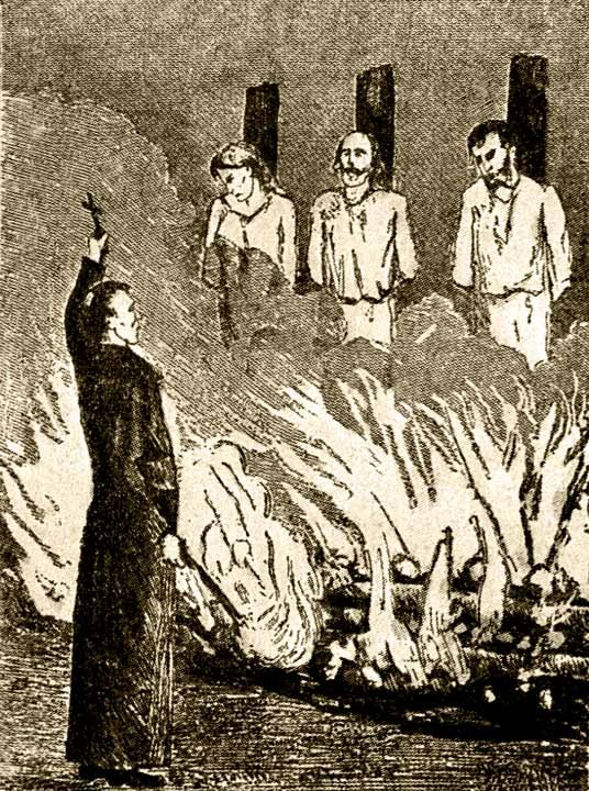 сожжение еретиков