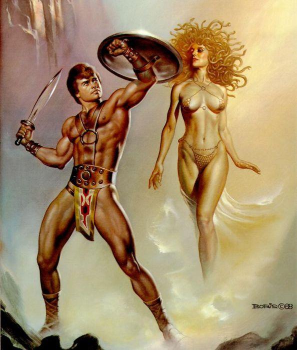 Персей и Горгона