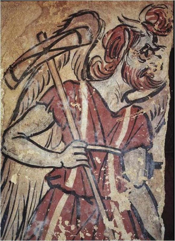 фреска-харун-Charun-черветери