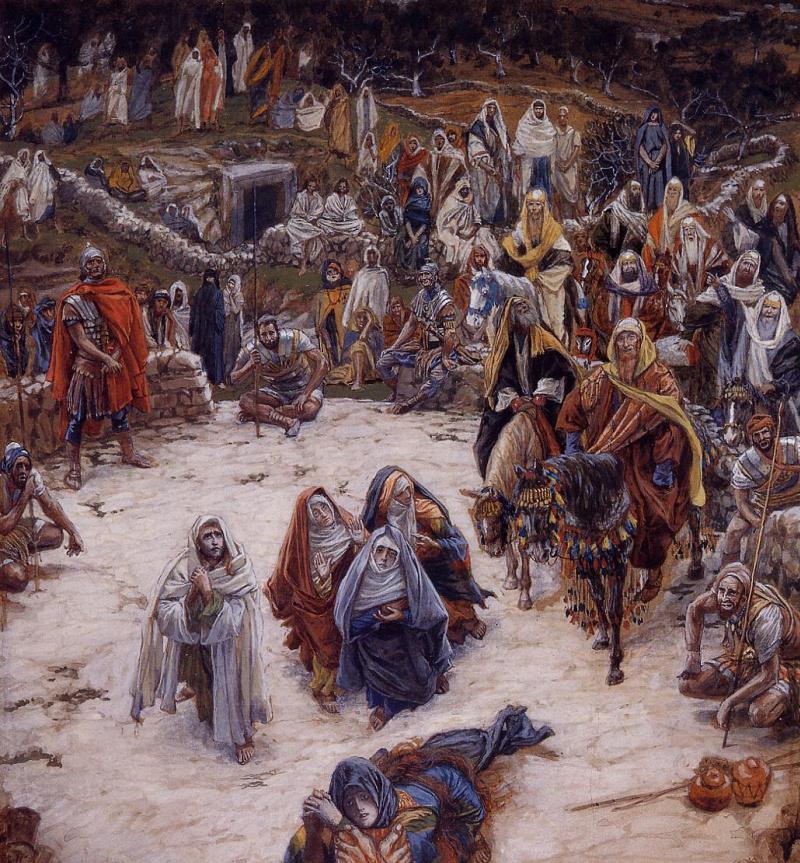 Художник Жак-Жозеф (Джеймс) Тиссо (1836-1902). Что видел Иисус Христос с креста