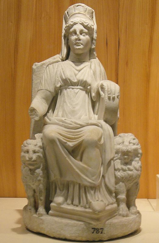 Кибела мраморная статуя