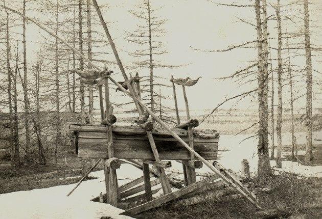 Воздушное захоронение шамана
