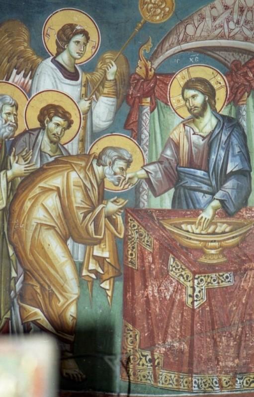 синий иисус христос 1