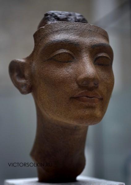Портрет юной Нефертити.