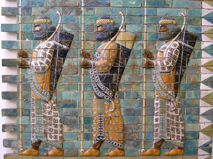 achaemenid-archers-glazed-brick-susa-c-500-bce