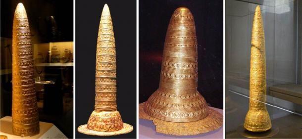 золотые шляпы