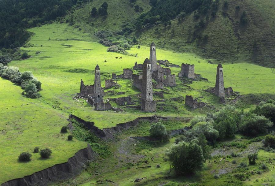 Башенный комплекс Таргим, Ингушетия.