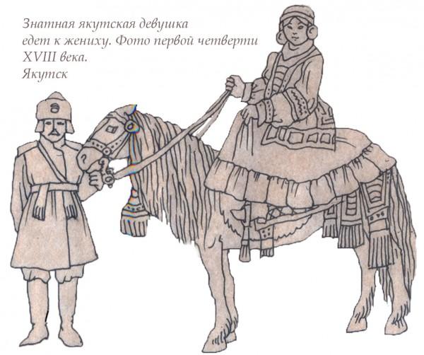 якутская девушка