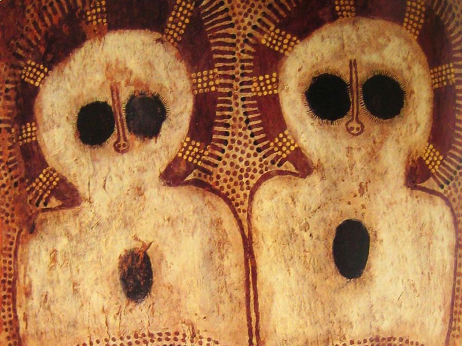 рисунок аборигенов