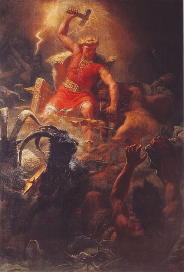 Thor's_Battle_Against_the_Jötnar_(1872)_by_Mårten_Eskil_Winge