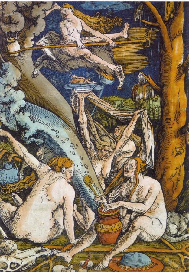 Hans Baldung - Sorcières, 1508