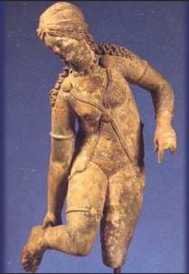 Древняя иллирийская статуэтка