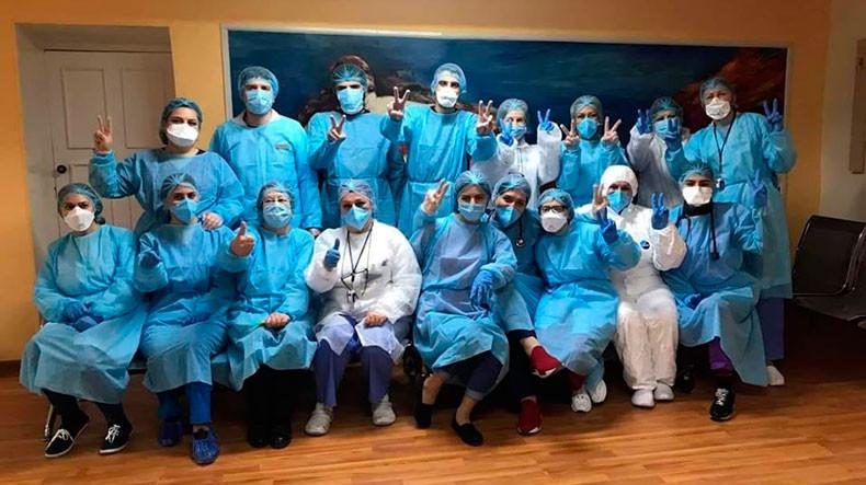 Врачи ереванской больница