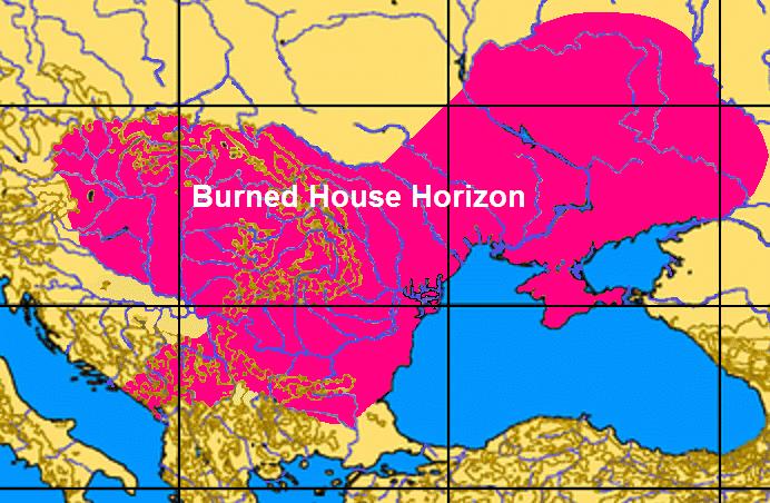 ареал сжигания поселений