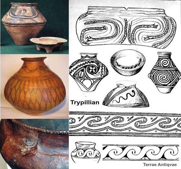 трипольская керамика 3
