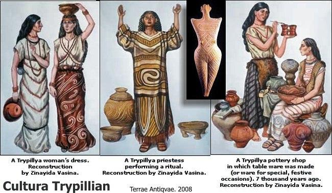 трипольская керамика 5
