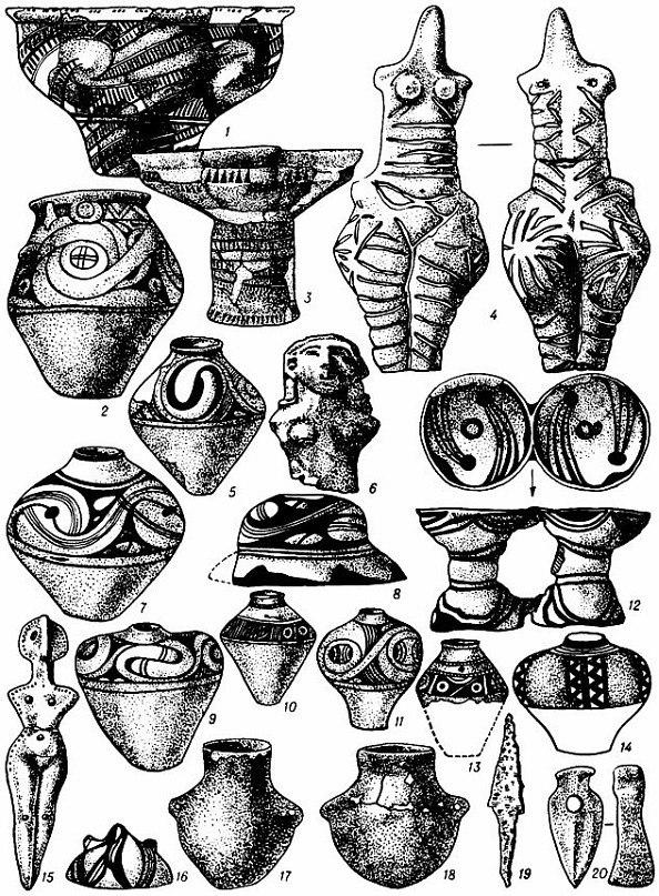 трипольская керамика 8