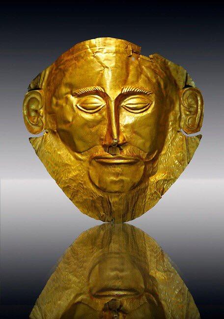 погребальная маска Агамемнона