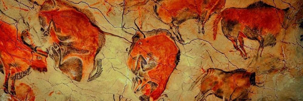 Древние рисунки в пещере Альтамира