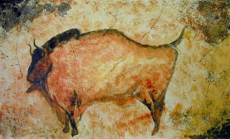 Бизон палеолит пещера Альтамира