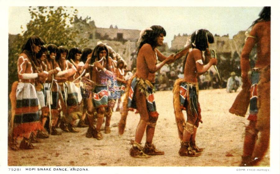 танец со змеями