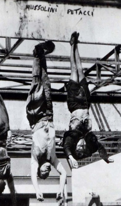 казнь Муссолини и Клары
