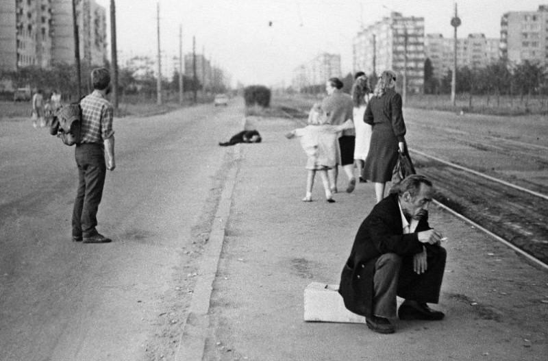 Советский Ленинград в день получки