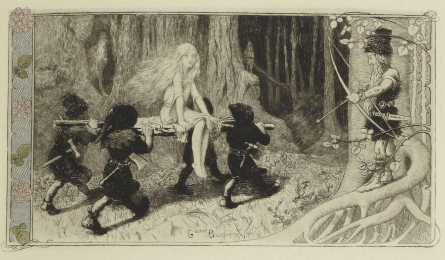 Illustration de Gaston Bussière. (1862-1929).