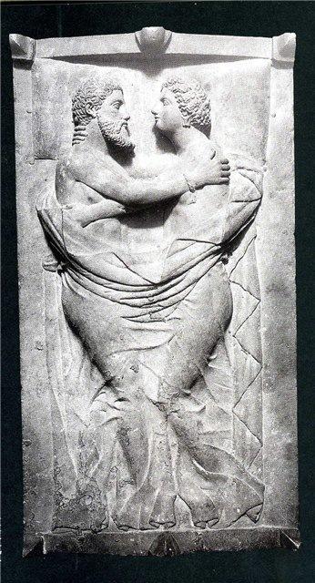 Саркофаг вечное объятие, 4 в. до н.э.