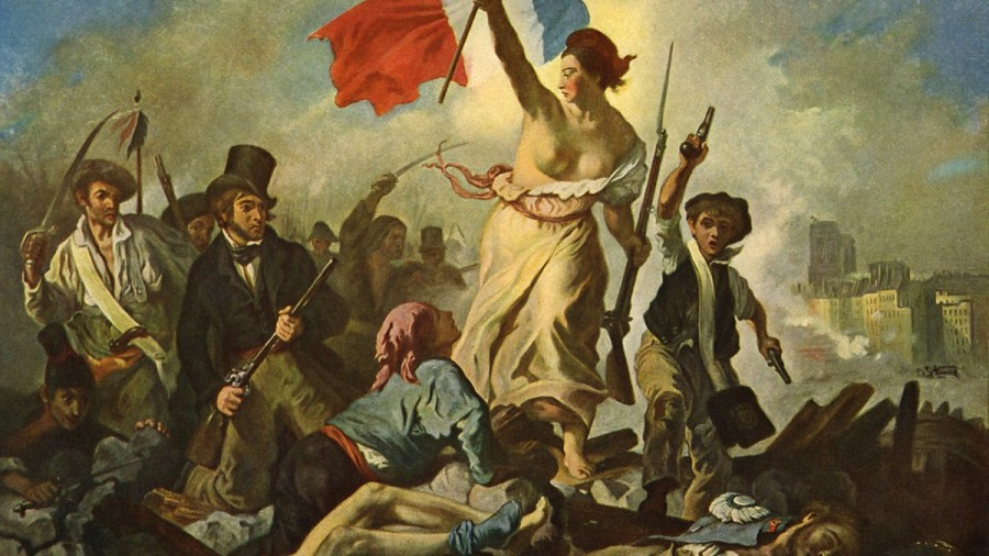 Картина Делакруа Свобода на Баррикадах