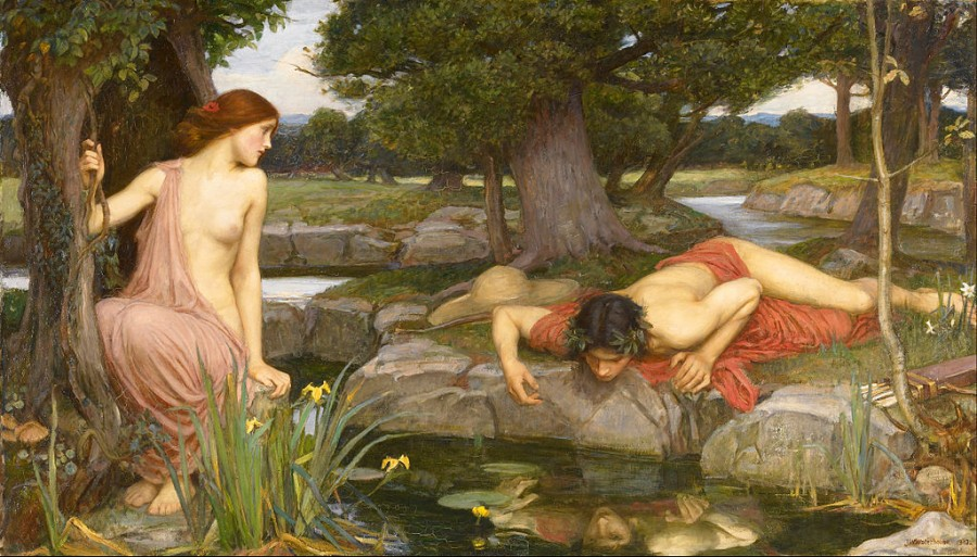 John W. Waterhouse, Echo and Narcissus.