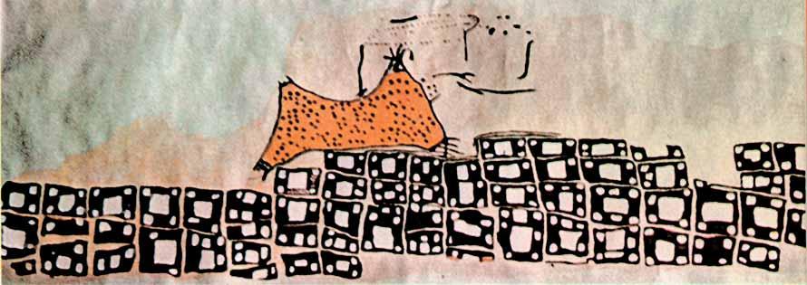catal_huyuk_map wall painting