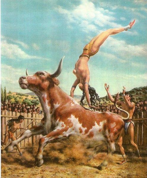 игры с быком