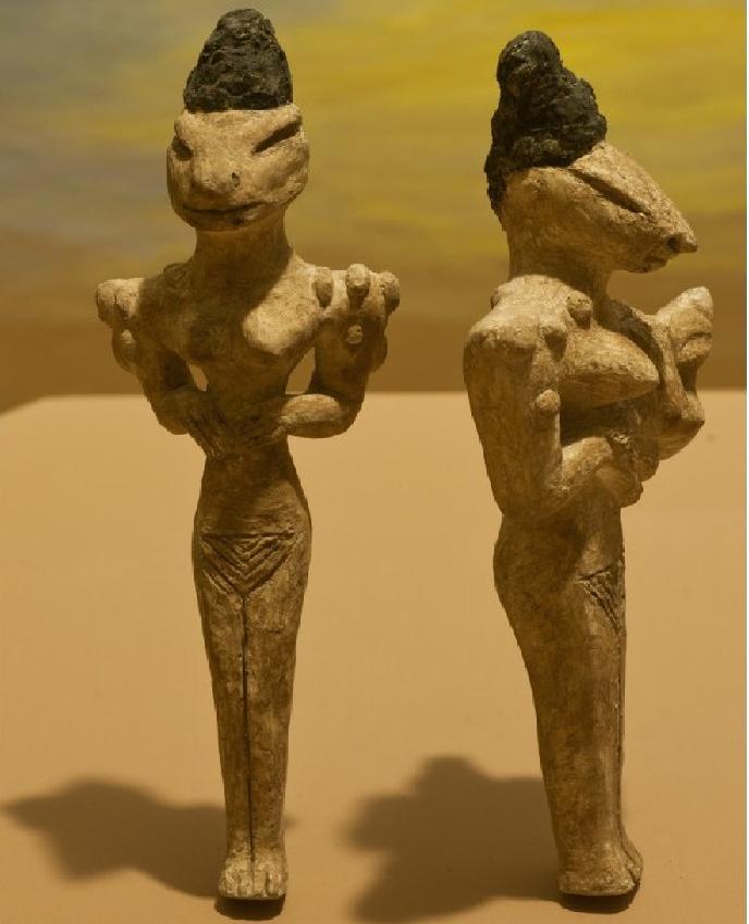 культура Удайд статуэтки