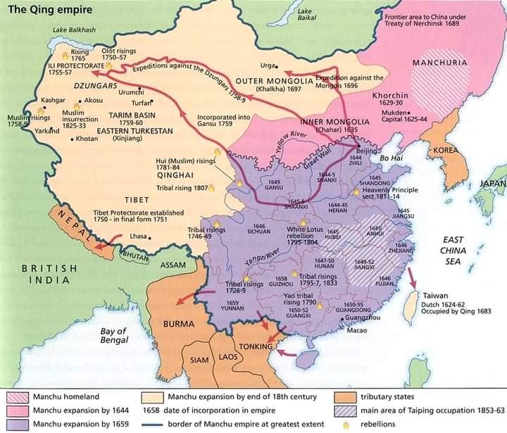 маньчжуры в Китае