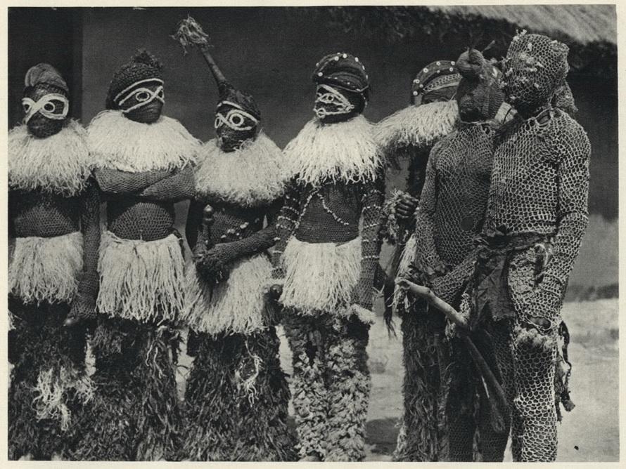 Воины нгангела. Ангола.