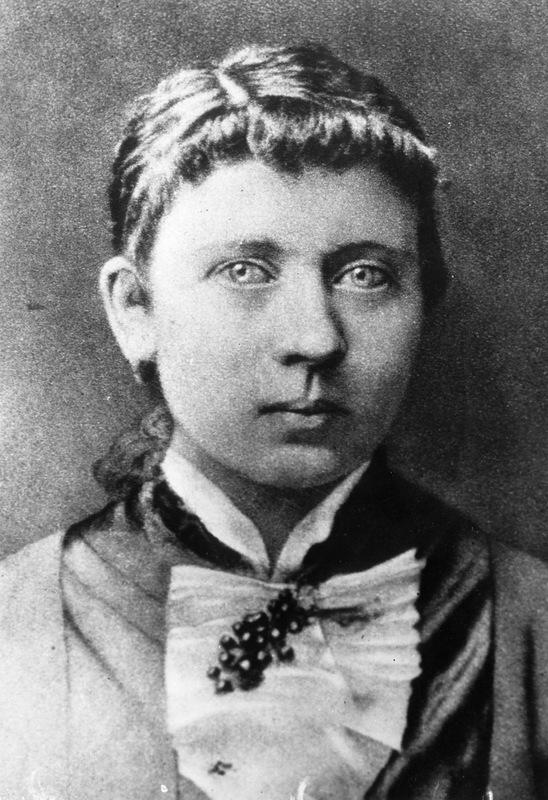 Мать Адольфа Гитлера - Клара Гитлер, урожденная Пёльцль.