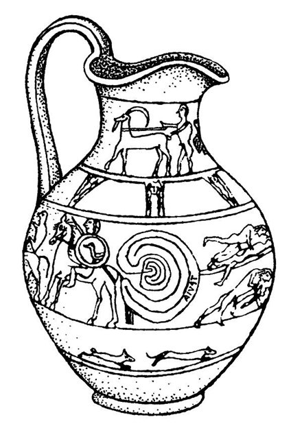этрусская ваза