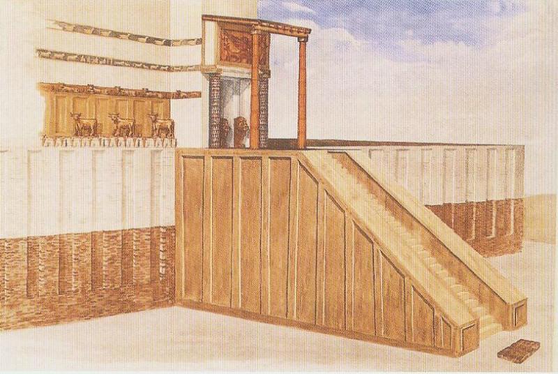Храм Нинхурсаг в Телль-эль-Убейде.