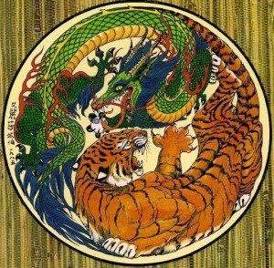 Белый тигр и Синий дракон