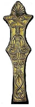 Скифская змееногая богиня АПИ
