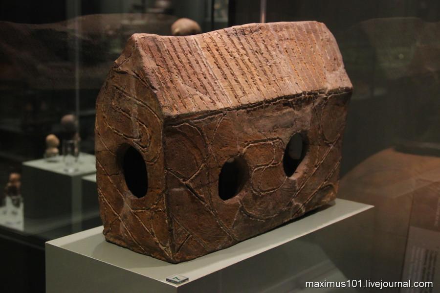 Макеты домов, 5 тыс. до н.э. Северо-Западная Болгария.