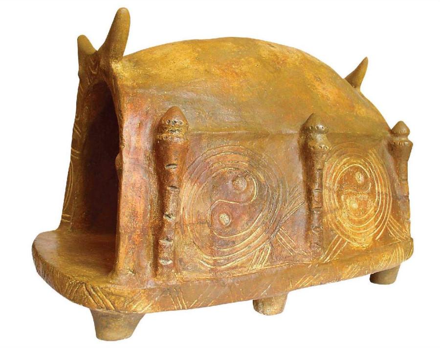 Модель храма. Трипольская культура, коллекция «Платар».