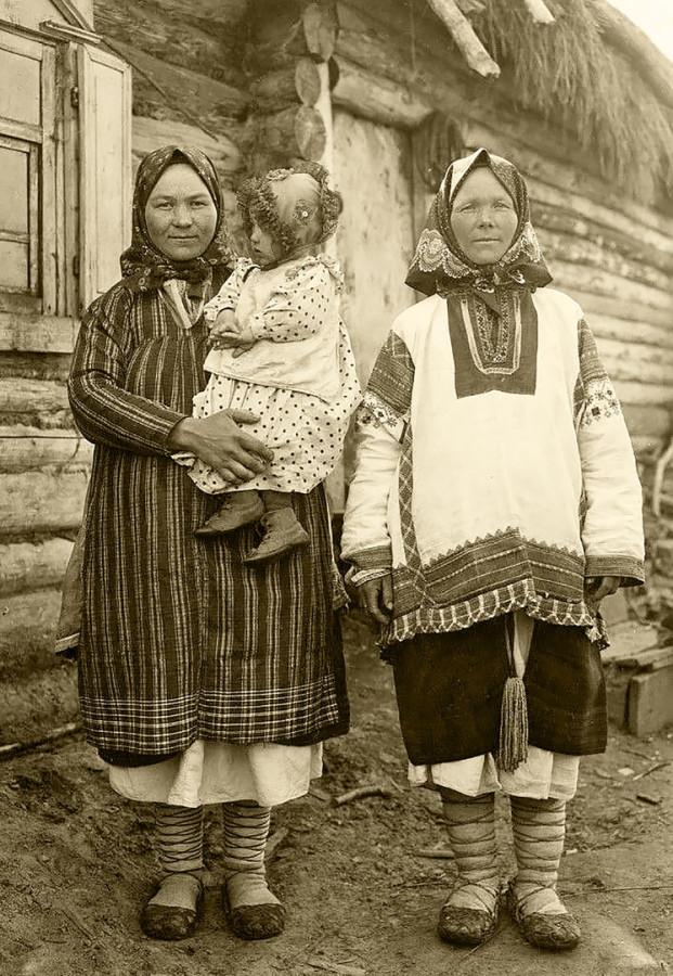 Крестьянки Рязанская губ. 1910 г.