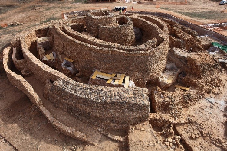 крепости культуры Мотильяс (2200-1500), Ла-Манча