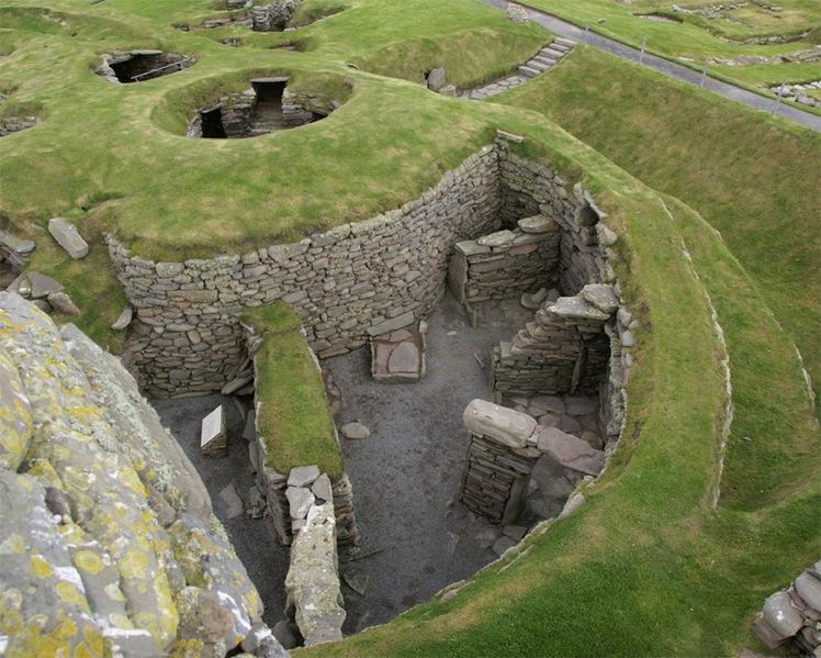 неолитический посёлок Скара-брей на Оркнейских островах (3100-2500) 2